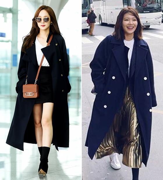 배우 박민영, 그룹 소녀시대 수영/사진=예컴, 최수영 인스타그램