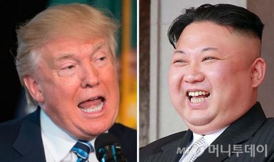 트럼프 미국 대통령과 김정은 북한 국무위원장