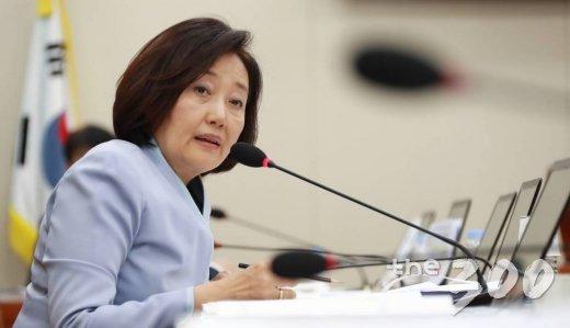 박영선 더불어민주당 의원. /사진=이동훈 기자