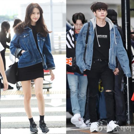 그룹 소녀시대 윤아(왼쪽)와 그룹 워너원 옹성우 /사진=뉴스1