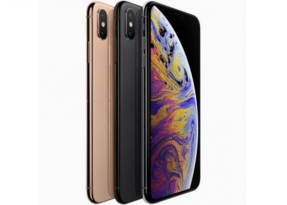 아이폰XS와 아이폰XS맥스는 골드, 스페이스 그레이, 실버 색상으로 출시된다. /사진제공=애플