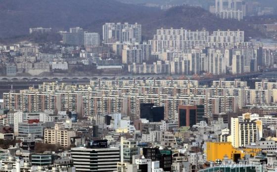 서울 강남 아파트 일대 전경. /사진=머니투데이DB
