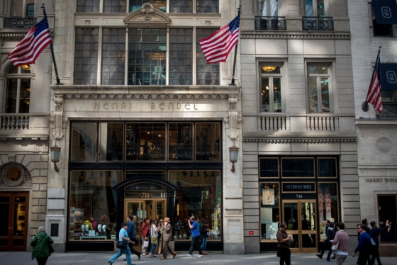 미국 뉴욕 맨하탄 5번가에 위치한 '헨리 벤델' 본점. /사진=블룸버그
