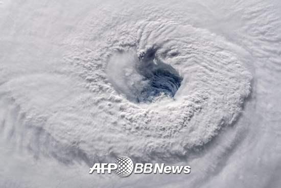 허리케인 '플로렌스'. /AFPBBNews=뉴스1