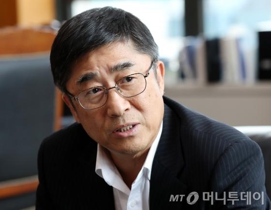 길재욱 한국거래소 코스닥시장위원장/사진=홍봉진 기자