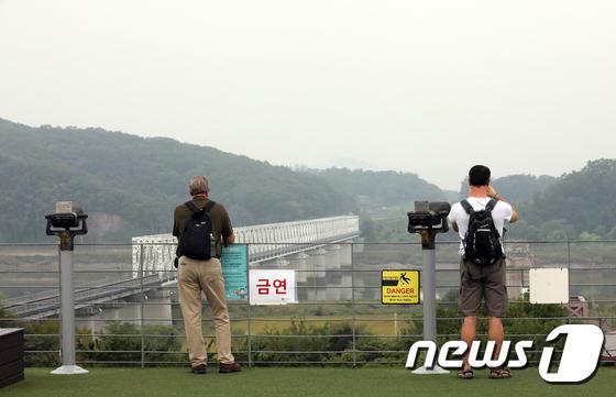 [사진]'한반도 평화 소식을 기다립니다'