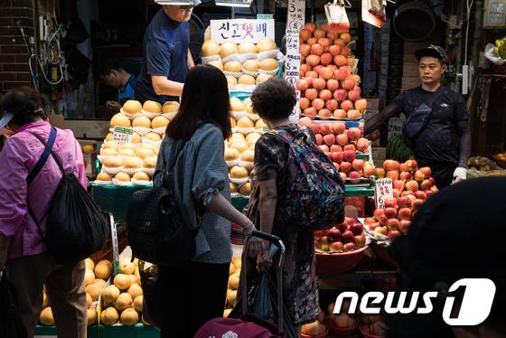 [사진]크고 좋은 과일을 찾아서