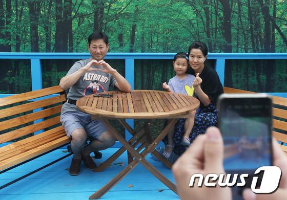 [사진]남북정상회담 '도보다리에서 찰칵?'