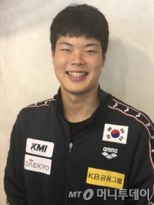 국가대표 수영선수 이호준/사진=변휘 기자