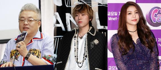 (왼쪽부터) 작곡가 김형석, 가수 지코, 가수 에일리. /사진=머니투데이 DB