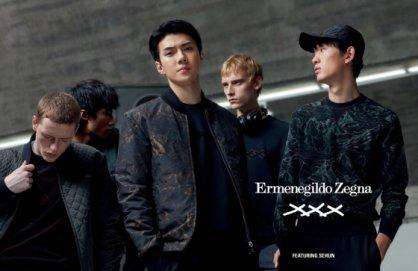 엑소 세훈, 글로벌 광고 캠페인 모델 됐다