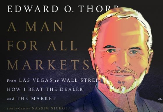 에드워드 소프의 2017년 자서전 '모든 시장을 위한 남자: 라스베가스에서 월스트리트까지, 어떻게 내가 딜러와 시장을 이겼는가'(A Man for All Markets: From Las Vegas to Wall Street, How I Beat the Dealer and the Market)
