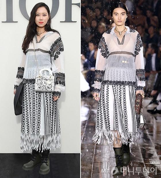 배우 공효진, 디올 2019 Resort 컬렉션/사진제공=디올(Dior)