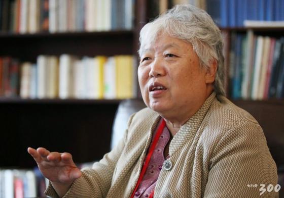 미국 뉴욕 컬럼비아대학교에서 열린 '2018 국제 평화포럼(2018 Global Peace Forum on Korea GPFK)'에 참석한 시옹 레이 중국 인민대학교 초빙교수가 30일(현지시간) 머니투데이미디어그룹과 인터뷰를 하고 있다./사진=뉴시스