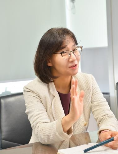 SK㈜ C&C 김은경 테크트레이닝센터장/사진=SK㈜ C&C