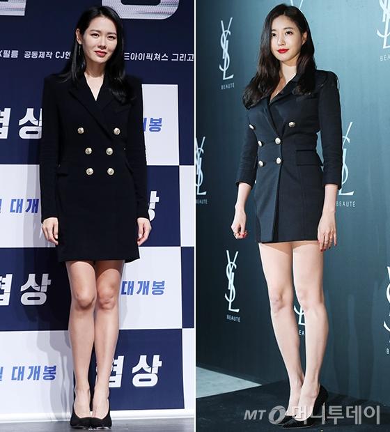 배우 손예진, 김사랑/사진=머니투데이 DB