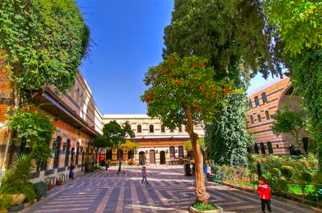 시리아 다마스쿠스 아젬 궁전 /사진=시리아 관광청