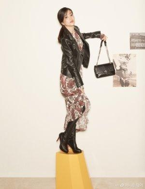 김태리, 한복 벗고 라이더 재킷 패션…