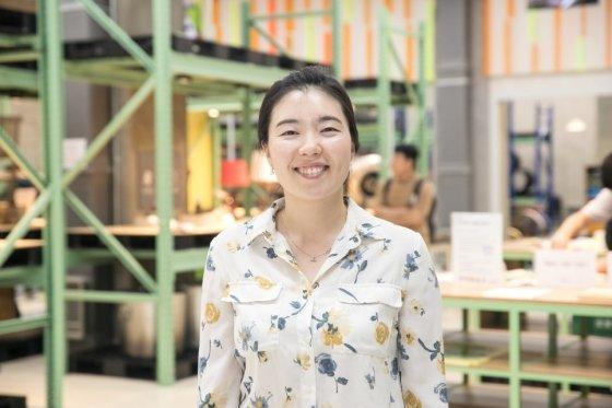 /사진=박미현 터치포굿 대표는 10년의 노하우를 바탕으로 기업이 만들어내는 산업폐기물에 대해 새활용 솔루션을 제공하는 적극적으로 해나갈 계획이라고 밝혔다.<br />