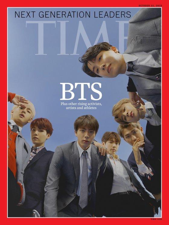 /사진='TIME'지 공식 홈페이지