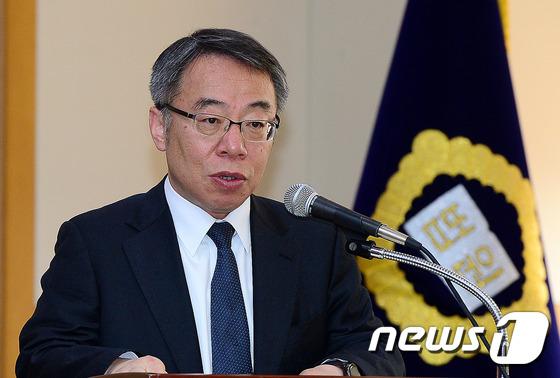 임종헌 법원행정처 차장. 2016.3.21/뉴스1 © News1 박세연 기자