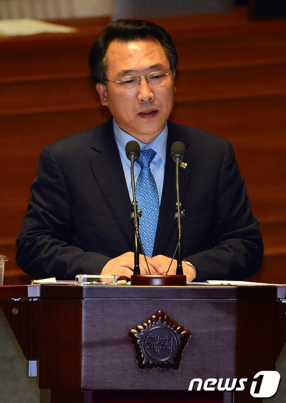 방하남  전 고용노동부 장관2014.6.20/뉴스1