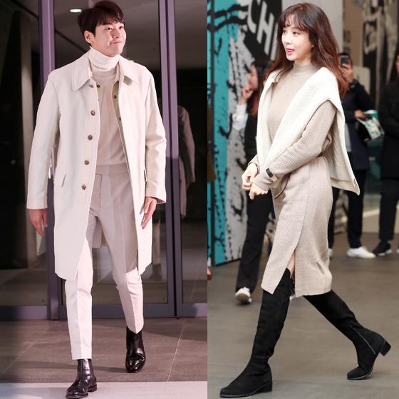 배우 김영광(왼쪽)과 배우 정려원. /사진=임성균, 김휘선 기자