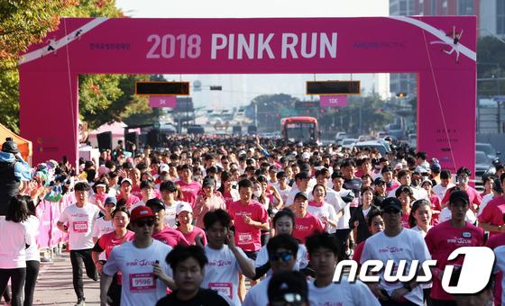 [사진]핑크빛 질주