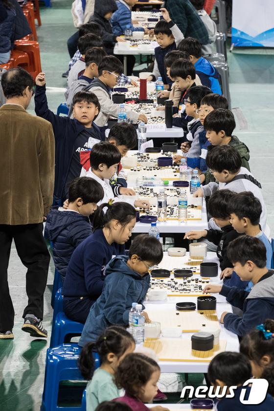[사진]서울교육감배 학생바둑대회 개최
