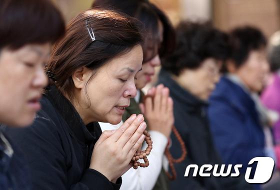 [사진]간절한 수능 기도