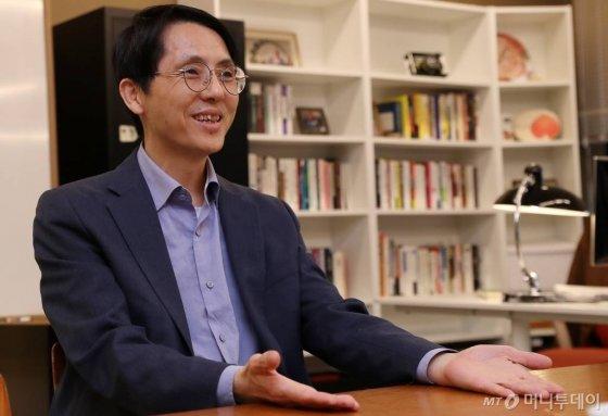 장홍래 정음에셋 대표/사진=김휘선 기자
