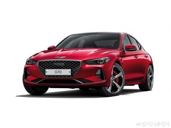 '2019년형 G70 가솔린 3.3 터보 스포츠 모델' /사진제공=제네시스
