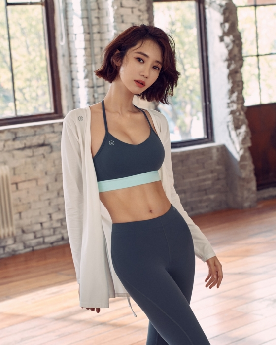 배럴 피트니스 웨어 고준희 모델컷/사진제공=배럴