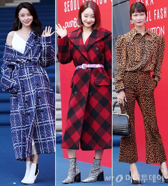 그룹 헬로비너스 나라, 배우 서효림, 모델 송경아/사진=김휘선 기자