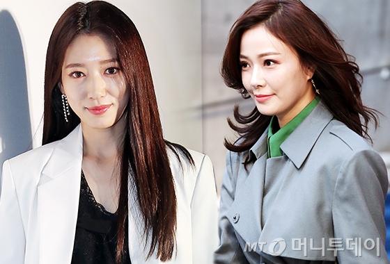 배우 박신혜, 손태영/사진=김창현, 김휘선 기자