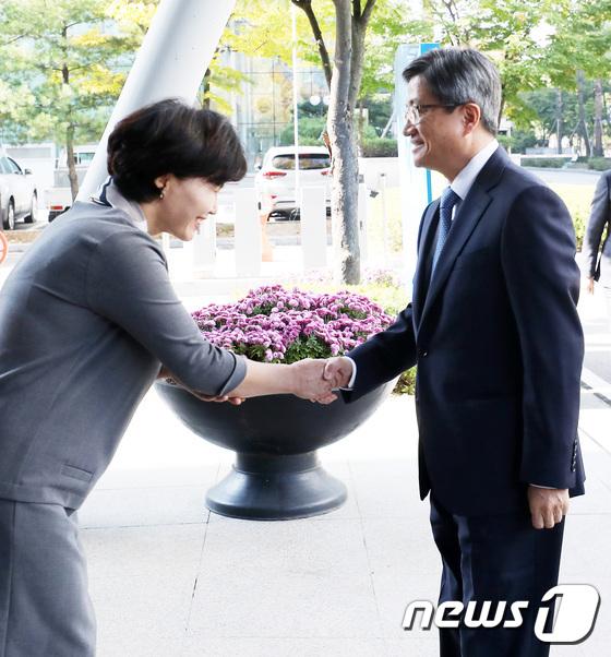 [사진]안양지원 방문한 김명수 대법원장
