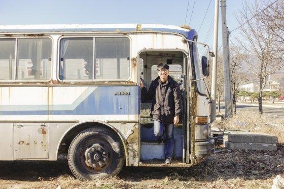 이종원씨(23)가 경북 풍기에서 촬영한 현대 FB500 버스 /사진 제공=이종원씨