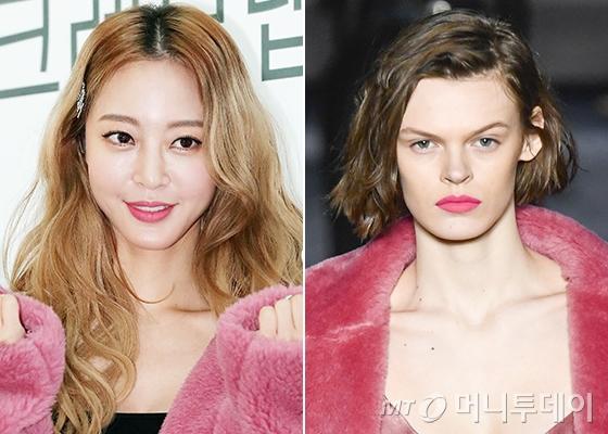배우 한예슬, 막스마라 2018 F/W 컬렉션/사진=김창현 기자, Max Mara