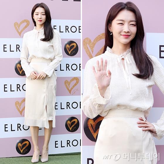 엘로엘 쇼케이스에 참석한 배우 장희진 /사진=김휘선 기자