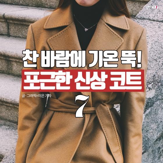 [카드뉴스] 찬 바람에 기온 뚝…포근한 신상 코트 7