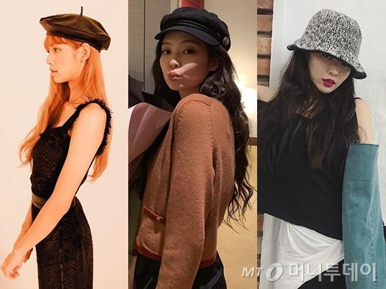 블랙핑크 리사, 블랙핑크 제니, 가수 현아 /사진=리사, 제니, 현아 인스타그램