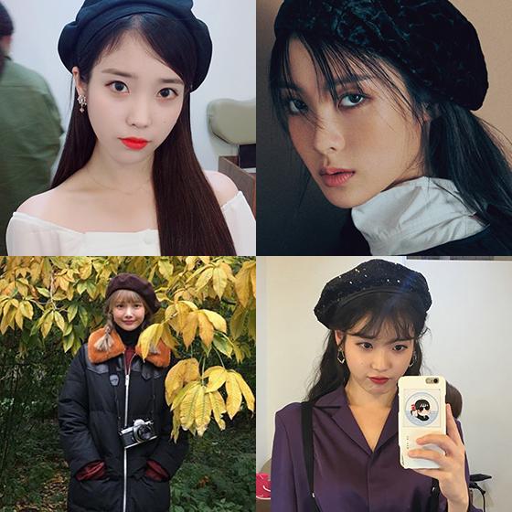 가수 겸 배우 아이유, 위키미키 루시, 배우 하연수 /사진=아이유, 하연수 인스타그램, 더블유 매거진