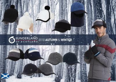 선덜랜드골프, 겨울 모자 출시/사진제공=선덜랜드골프