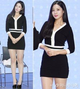 베리굿 조현, 밀착 원피스+하이힐…아찔한 굽 '깜짝'
