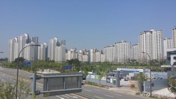 경기도 한 아파트 단지 전경(기사 내용과 관련 없음). /사진=머니투데이DB
