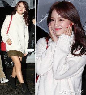 """구구단 세정, 상큼 레드 포인트 패션…""""싱그러워"""""""