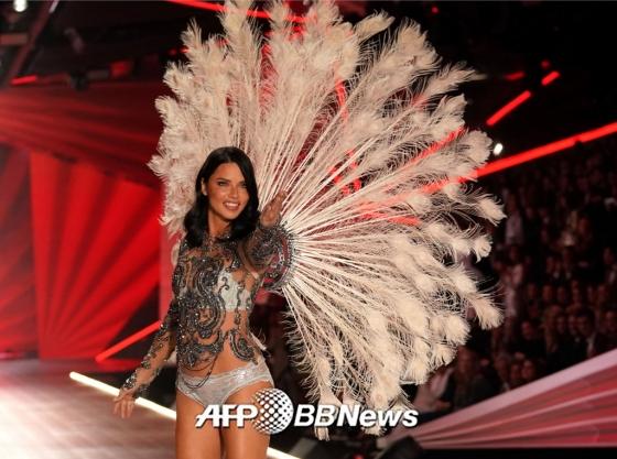 모델 아드리아나 리마 /사진=/AFPBBNews=뉴스1