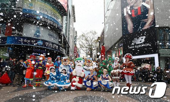 [사진]'크리스마스에 눈 내리는 기적을'