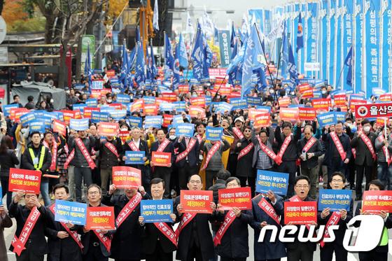 [사진]제3차 전국의사 총궐기대회