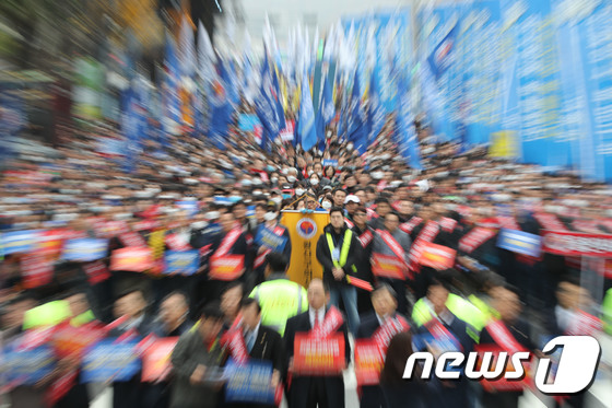 [사진]'대한민국 의료 바로세우기 제3차 전국의사 총궐기대회'